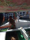 Ali auf dem Nil Stockbilder