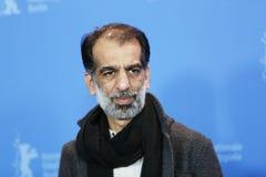 Ali Bagheri stelt bij het `-Varken ` Stock Foto