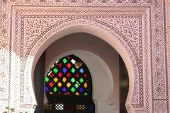 Ali Ben Youssef Madrasa Royaltyfri Foto