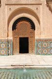 Ali Ben Youssef Madrasa Royalty Free Stock Photos