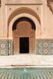Ali Ben Youssef Madrasa Royaltyfria Foton