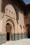 Ali Ben Youssef Madrasa Stock Photography