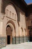 Ali Ben Youssef Madrasa Arkivbild