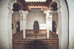 Ali Ben Youssef Madrasa, Marrakech, Maroc image stock
