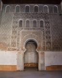 Ali Ben Youssef Madrasa Marrakech, Marocko Royaltyfri Fotografi