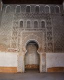 Ali Ben Youssef Madrasa, Marrakech, Marokko Royalty-vrije Stock Fotografie