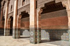 Ali Ben Youssef Madrasa, Marrakech, Morocco Royalty Free Stock Image