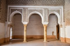 Ali Ben Youssef Madrasa, Marrakech, Morocco Stock Photography