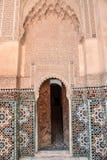 Ali Ben Youssef Madrasa, Marrakech, Morocco Royalty Free Stock Photography