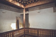 Ali Ben Youssef Madrasa, Marrakech, Morocco Royalty Free Stock Image