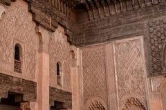 Ali Ben Youssef Madrasa, Marrakech, Morocco Royalty Free Stock Photos