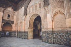 Ali Ben Youssef Madrasa, Marrakech, Morocco Stock Photo