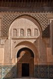 Ali Ben Youssef Madrasa, Marrakesh, Marocco Fotografie Stock Libere da Diritti