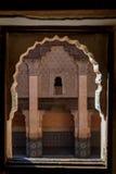 Ali Ben Youssef Madrasa Marrakesh, Marocko Royaltyfri Bild