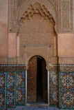 Ali Ben Youssef Madrasa, Marrakesh, Morocco Stock Images