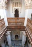 Ali Ben Youssef Madrassa en Marrakesh imagen de archivo
