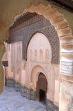 Ali Ben Youssef Madrassa en Marrakesh, Marruecos. Imagen de archivo libre de regalías