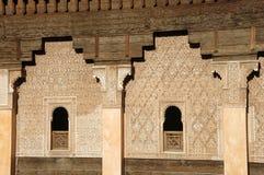 Ali Ben Youssef Madrassa en Marrakesh, Marruecos. imagen de archivo