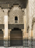 Ali Ben Youssef Madrassa Royalty Free Stock Photography