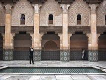 Ali Ben Youssef Medersa Stock Photography