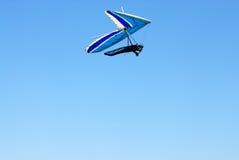 Ali blu nel cielo Fotografia Stock Libera da Diritti