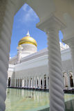 ali Brunei meczetowy Omar saifuddin sułtan Zdjęcie Stock