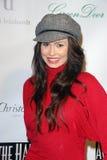 """Ali Costello på """"över Hallen"""" premiären, Laemmles musik Hall, Beverly Hills, CA. 12-01-09 Royaltyfri Foto"""