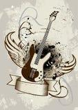 Ali della chitarra Immagini Stock Libere da Diritti
