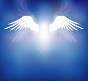 Ali di angelo Fotografie Stock Libere da Diritti