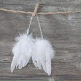 Ali di angelo Immagini Stock Libere da Diritti
