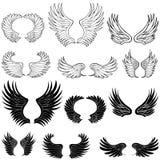 Ali di angelo illustrazione vettoriale