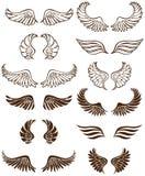 Ali di angelo illustrazione di stock