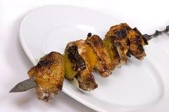 Ali di pollo del barbecue Immagini Stock