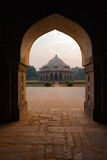 Ali Isa Khan Niazi Tomb Framed Humayun Complex Stock Photography