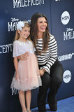 Ali Landry. LOS ANGELES, CA - MAY 29, 2014: Ali Landry & daughter at the world premiere of Maleficent at the El Capitan Theatre, Hollywood Stock Photo