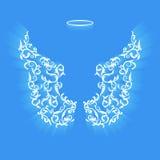 Ali originali di angelo Immagini Stock Libere da Diritti