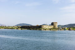 Ali Pasha Castle Butrint, Albanien Royaltyfri Foto