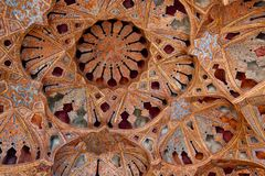 Ali Qapoo Palace in Esfahan, der Iran Lizenzfreie Stockfotografie
