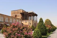 Ali Qapu pałac na Naqsh-e Jahan kwadracie w Isfahan mieście, Iran obraz stock