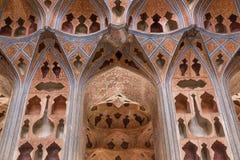 Ali Qapu Palace, a grand palace in Isfahan, Iran. Stock Images