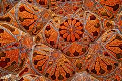 Ali Qapu Palace-het plafond van de muziekzaal royalty-vrije stock foto's