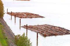 Aliaż notuje rzekę zdjęcia stock