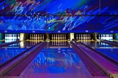 Aléia de bowling Imagem de Stock