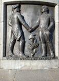 Aliados del monumento Foto de archivo libre de regalías