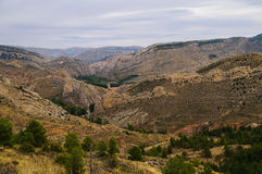 Aliaga Teruel Royalty Free Stock Images