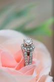 Aliança de casamento - imagem conservada em estoque Imagens de Stock