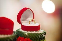 Aliança de casamento, preço de noiva da aliança de casamento Símbolos do casamento Cerimónia de casamento imagem de stock royalty free