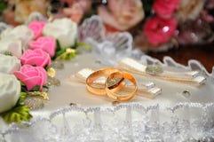 Alianças de casamento. Imagem de Stock Royalty Free