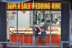 Alianças de casamento de Filipinas Fotos de Stock