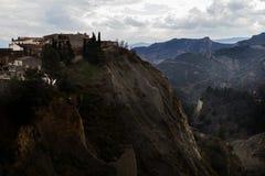 Aliano, Basilicata, Italië Royalty-vrije Stock Afbeeldingen
